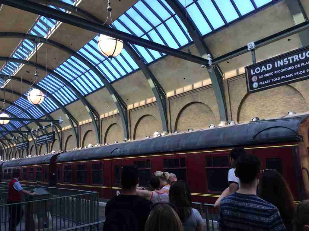 Harry Potter hogworts express