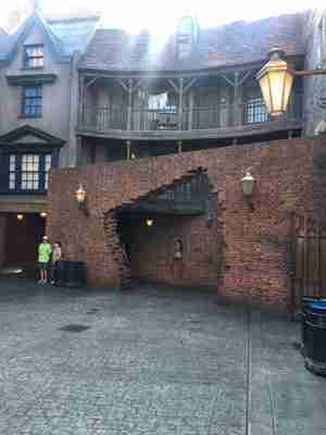 diagon alley entrance