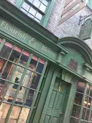 flourish and blotts shop