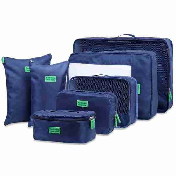 travel bag organisers cubes for backpacking