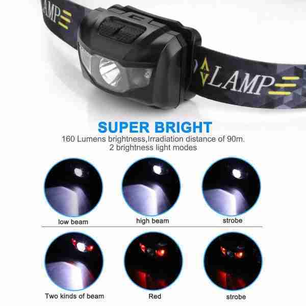 backpacking head torch
