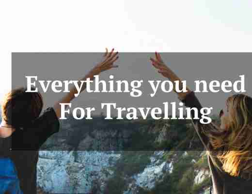 everything you need for traveleling